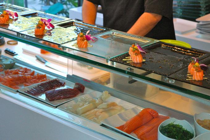 Matjesild og fusion sushi