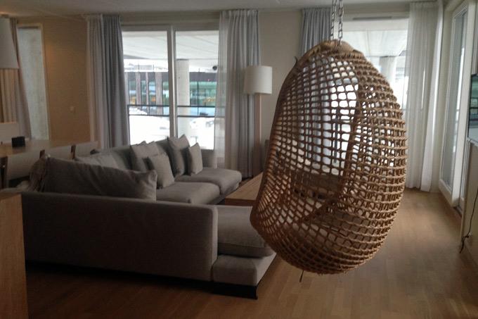 Suite med utsikt over Kragerø og bassengområdet
