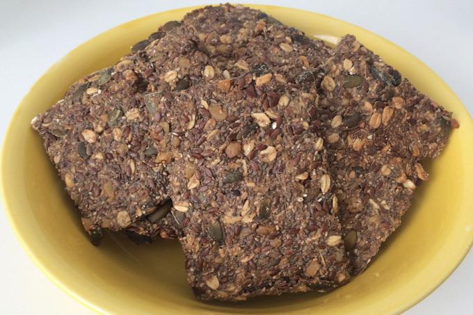 Knekkebrød med chia